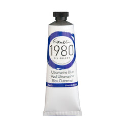 Gamblin 1980 Oil 7700 Ultramarine Blue   37 Ml