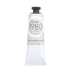 Gamblin 1980 Oil 7835 Transparent White 37 Ml