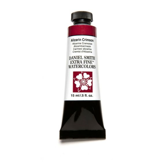 Daniel Smith Extra Fine Watercolor Paint Tube 284600004 15 Ml Alizarin Crimson