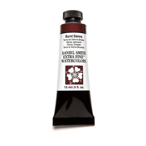 Daniel Smith Extra Fine Watercolor Paint Tube 284600010 15 Ml Burnt Sienna