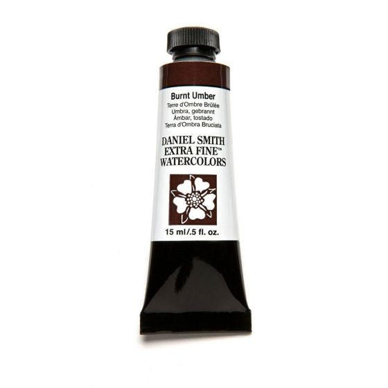Daniel Smith Extra Fine Watercolor Paint Tube 284600011 15 Ml Burnt Umber