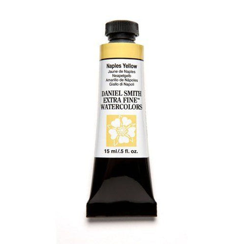 Daniel Smith Extra Fine Watercolor Paint Tube 284600058 15 Ml Naples Yellow