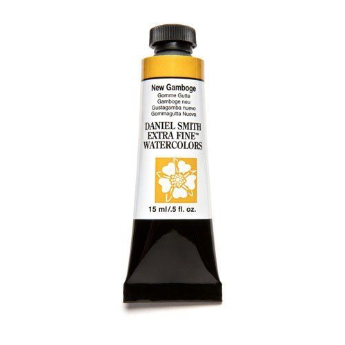Daniel Smith Extra Fine Watercolor Paint Tube 284600060 15 Ml New Gamboge