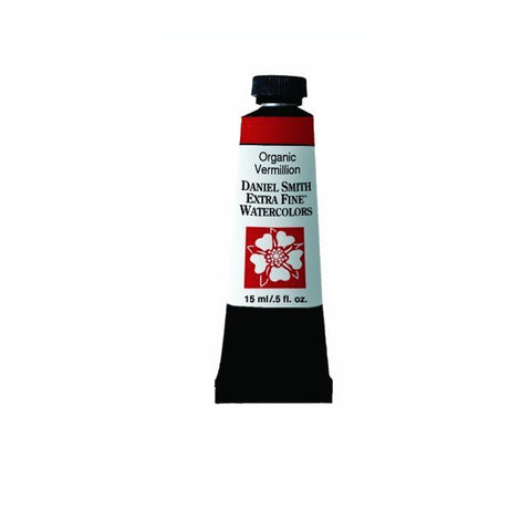 Daniel Smith Extra Fine Watercolor Paint Tube 284600064 15 Ml Organic Vermilion