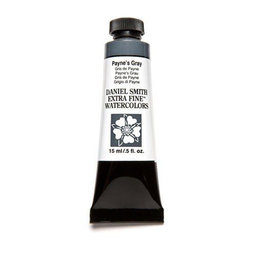 Daniel Smith Extra Fine Watercolor Paint Tube 284600065 15 Ml Payne‰۪S Gray