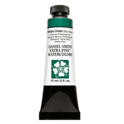 Daniel Smith Extra Fine Watercolor Paint Tube 284600078 15 Ml Phthalo Green (Blue Shade)