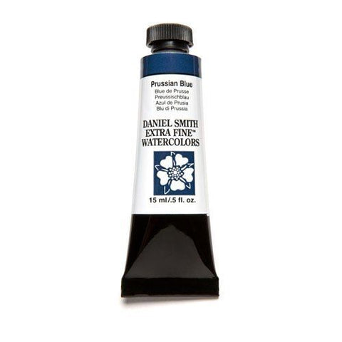 Daniel Smith Extra Fine Watercolor Paint Tube 284600082 15 Ml Prussian Blue