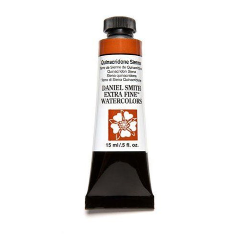 Daniel Smith Extra Fine Watercolor Paint Tube 284600093 15 ML Quinacridone Sienna