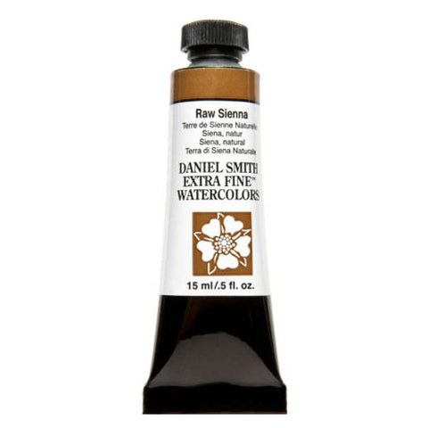 Daniel Smith Extra Fine Watercolor Paint Tube 284600096 15 Ml Raw Sienna