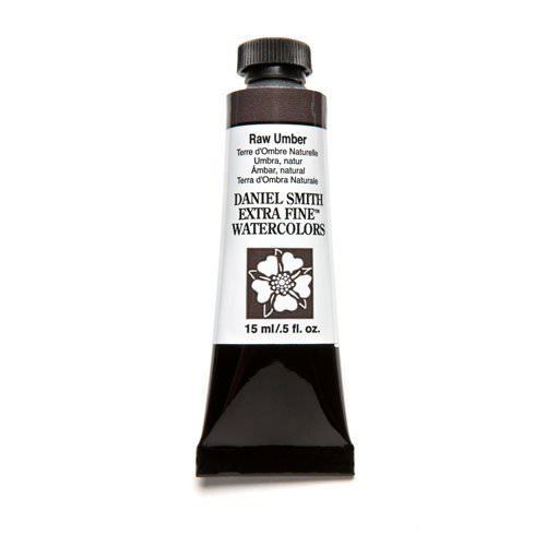 Daniel Smith Extra Fine Watercolor Paint Tube 284600097 15 ML Raw Umber