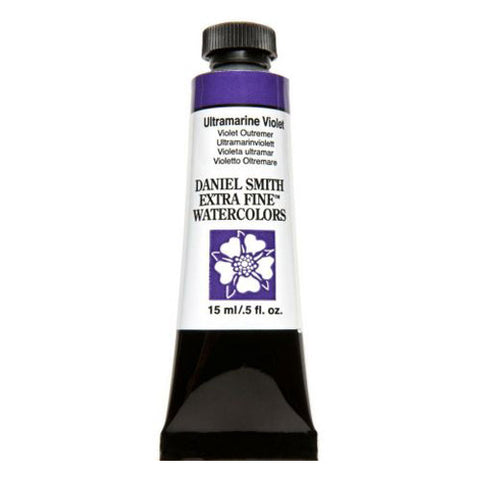 Daniel Smith Extra Fine Watercolor Paint Tube 284600108 15 Ml Ultramarine Violet