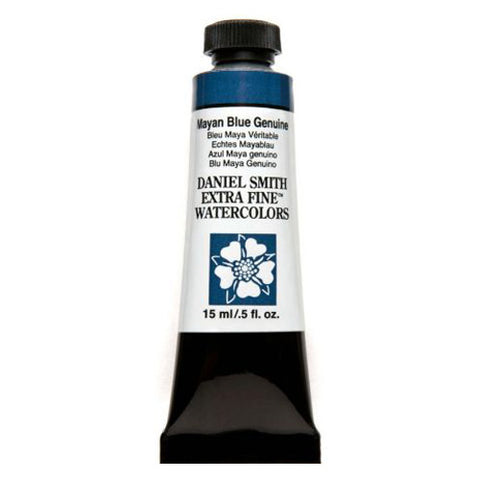 Daniel Smith Extra Fine Watercolor Paint Tube 284600211 15 Ml Mayan Blue Genuine