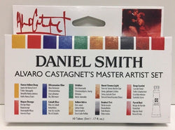 Daniel Smith Alvaro Castagnet Watercolor Set 285610016 5 Ml 10 Tubes