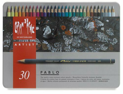 Caran D'Ache Colored Pencil 666 330 30Pncls Pablo
