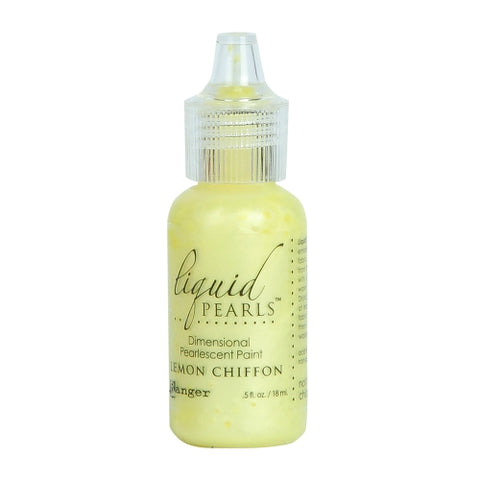 Ranger Craft Tool Lpl47513 Lemon Chiffon Liquid Pearl Paint