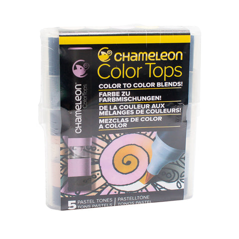Chameleon Colour Tops   Pastel Tones Set