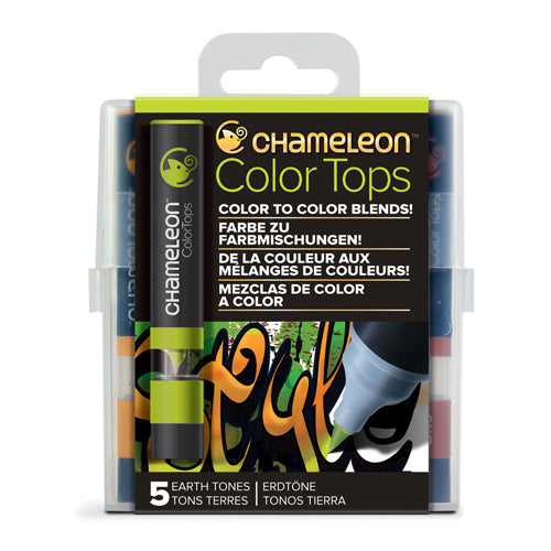 Chameleon Colour Tops   Earth Tones Set