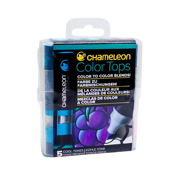Chameleon Colour Tops   Cool Tones Set