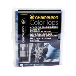 Chameleon Colour Tops   Gray Tones Set