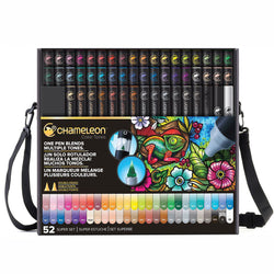 Chameleon Graphic Marker Set Ct5201 52Pcs Complete Set