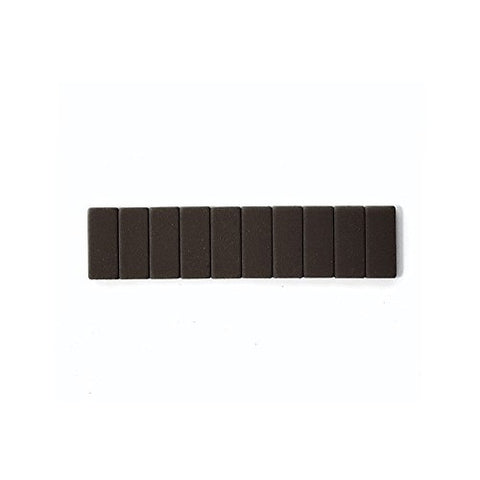 Blackwing Replacement Erasers 104083 10 Pcs Black