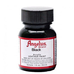 Angelus  Acrylic Leather Paint 720-001 Black 1 Oz