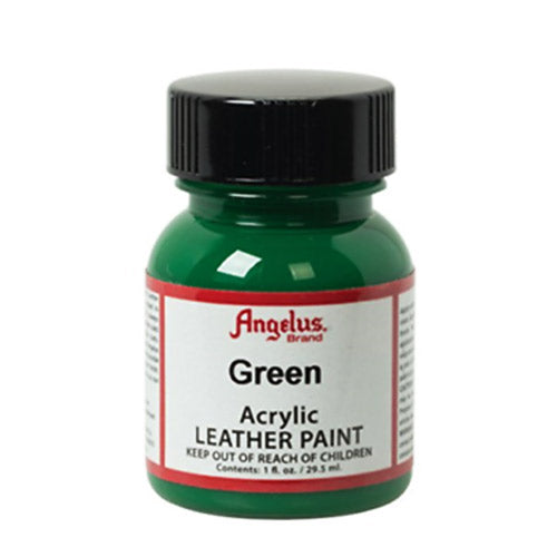 Angelus  Acrylic Leather Paint 720-050 Green 1 Oz