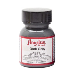 Angelus  Acrylic Leather Paint 720-080 Dark Grey 1 Oz