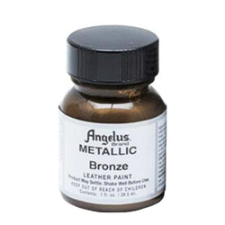 Angelus  Acrylic Leather Paint 732 Metallic-142 Bronze 1 Oz
