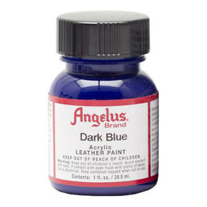 Angelus  Acrylic Leather Paint 720-179 Dark Blue 1 Oz