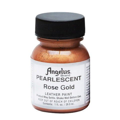 Angelus  Acrylic Leather Paint 733 Pearl-456 Rose Gold 1 Oz