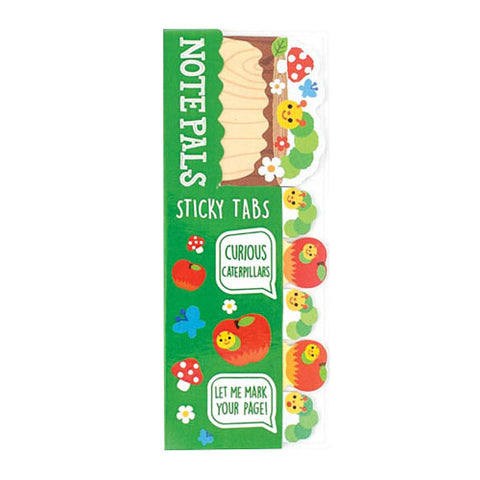 Ooly Note Pals Sticky Tabs 121-006 1 Pack Curious Caterpillars