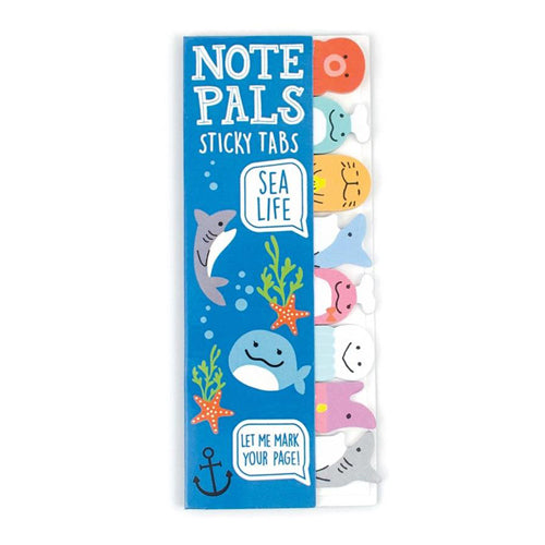 Ooly Note Pals Sticky Note Tabs 121-010 Sea Life 1 Pack