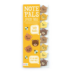 Ooly Note Pals Sticky Note Tabs 121-020 Baby Bears 1 Pack