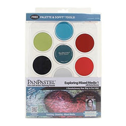 Panpastel Exploring Mixed Media 1 30075 Donna Downey 7 Colors