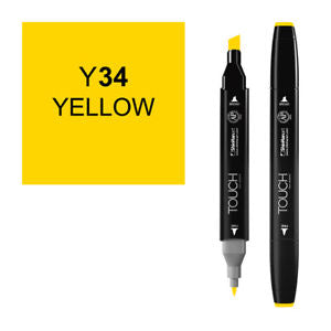 Shinhan Twin Tip Graphic Marker 1110034 Y34 Yellow