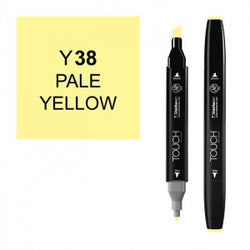 Shinhan Twin Tip Graphic Marker 1110038 Y38 Ple Ylw