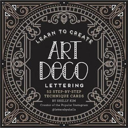 Learn to Create Art Deco Lettering