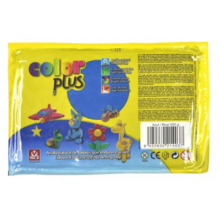 Activa Color Plus Colored Air Dry Clay 6107 1.1 Lb Blue