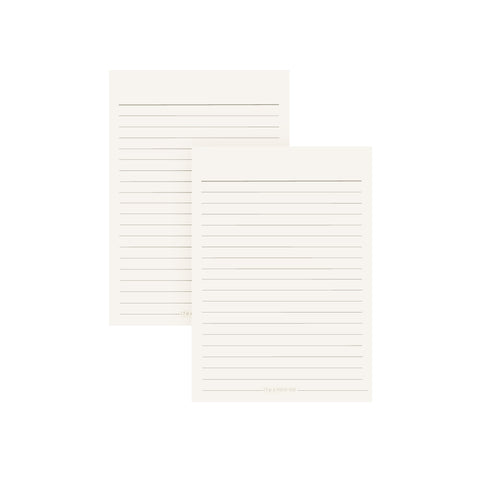 Ifex Refill Notebook  A6 Ruled 50S Paper Bar