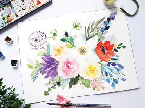 Expressive Florals Workshop by Joly Poa
