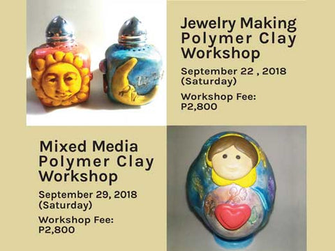 Polymer Clay Workshop by Kathleen Ng of Pumpkin Beads