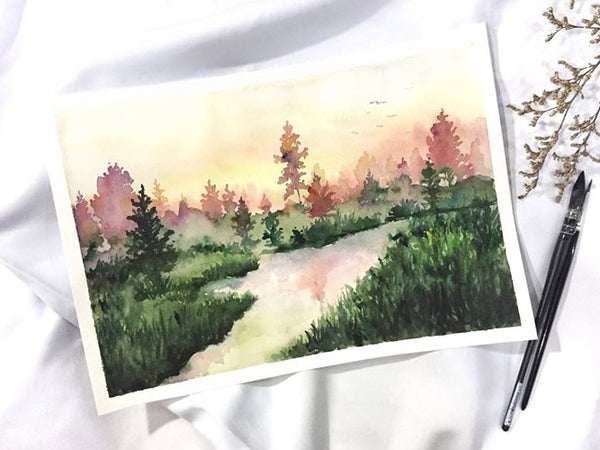Landscape Painting Workshop by Jayenne Cua