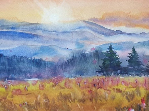 Landscape Watercolor Workshop by Pinky Peralta
