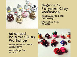 Beginner's and Advanced Polymer Clay Workshop