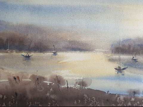 Seascape Watercolor Workshop by Pinky Peralta