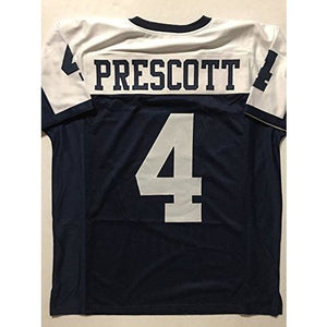 Unsigned Dak Prescott Dallas Thanksgiving Day Custom Stitched Football  Jersey Size XL New No Brands  c4c80b149