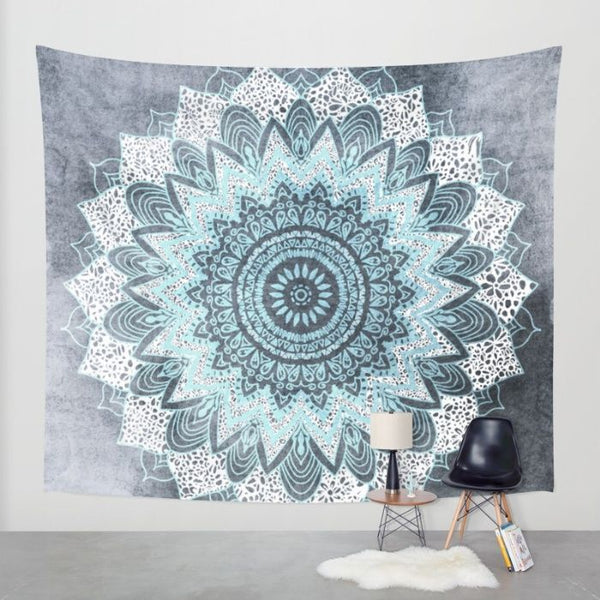 How to Hang a Tapestry in Different Ways.