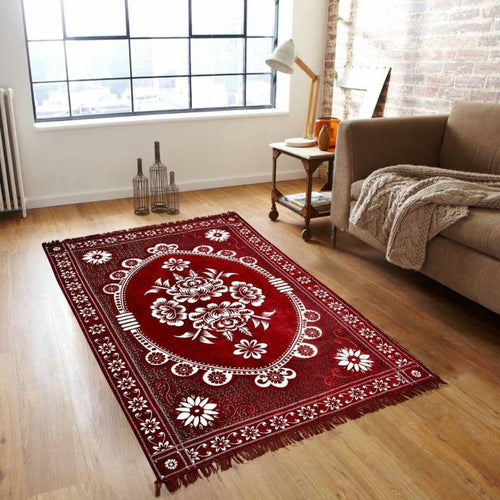 Yoga Craft Polyester Kashmir Carpet