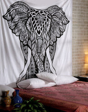 Beautiful Black And White Mammoth Tapestry